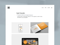 Sofi smith website design refresh