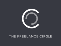 The freelance circle   branding   blueblack