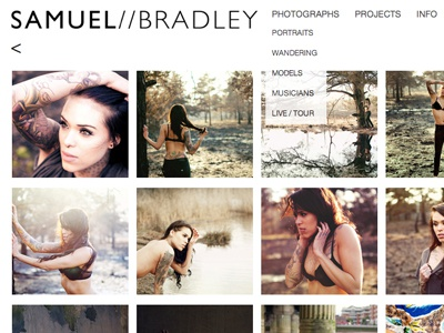 Samuel Bradley Website