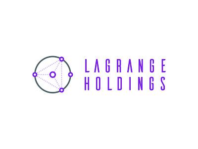 LaGrange Holdings - Logo identity crypto space futuristic minimal. vector logo design logo brand branding