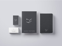 Shane fontaine branding and logo design