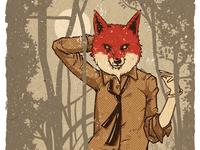 Alluring Fox