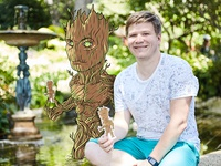 Groot livesketch