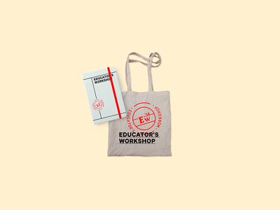AICLA - Event Bag identity branding workshop educator art institute logo