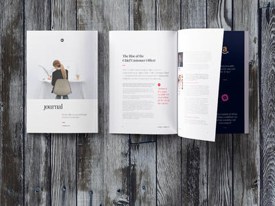 Journal typography magazine print design publication