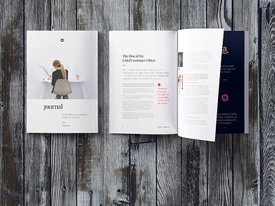 Journal typography magazine print design publication