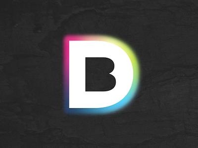 Design Birmingham gotham glow overlay colour brand logo