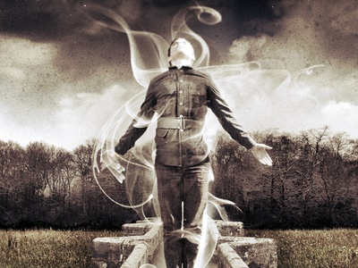 Goodnight Soldier photography image manipulation graphic design album cover fola smoke