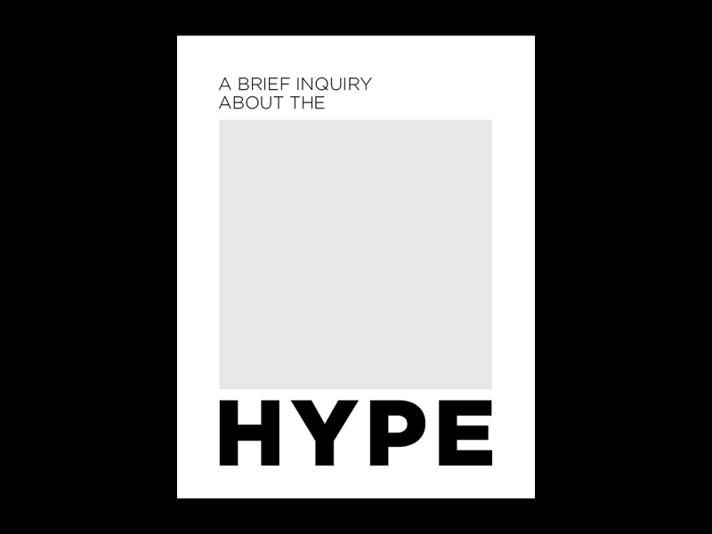 Response to the Hype | The 1975 album art album type art layouts layout typogaphy type design