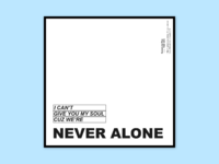 Never alone   the 1975 opt.02  2x