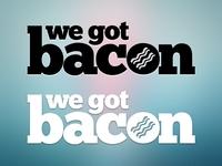We Got Bacon Logo