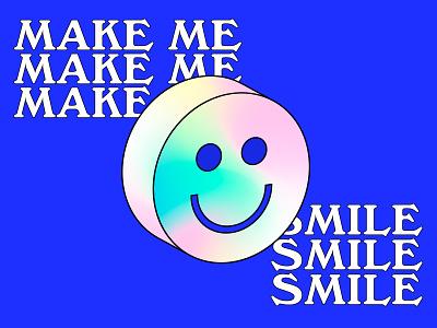 Make me smile 😊 lettering art typogaphy fonts lettering illustration roccano