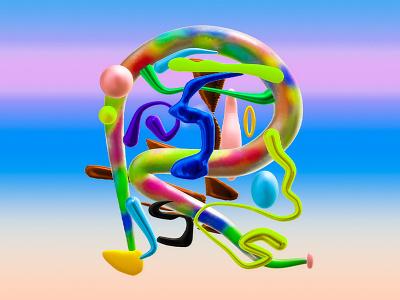 𝓡 is for 𝓡𝓸𝓬𝓬𝓪𝓷𝓸 branding logo illustration marketplace ui render c4d design 3d roccano