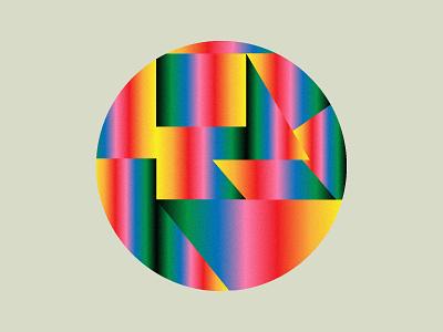 𝓡𝓪𝓲𝓷𝓫𝓸𝔀 🌈 graphic design illustrator branding logo geometric illustration gradients rainbow roccano