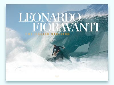 Leonardo Fioravanti roccano sport nature wave ocean surfer pro stallion italian fioravanti leonardo
