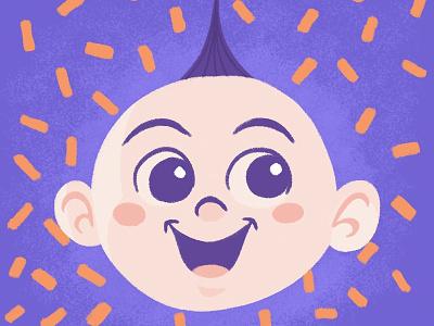 Jack Jack incredibles heroes disney pixar art pixar baby art gsus illustration for children illustration