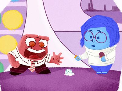 🍦Oops🙁 peru lima disney pixar art pixar chalk kids illustration for children art gsus illustration
