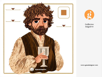 Tyrion Lannister after effects aescripts animation 2d joystick n sliders joysticksnsliders got game of thrones motion graphic aftereffects motiongraphics kids illustration for children gsus art illustration