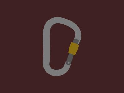 Biner carabiner rope climb biner