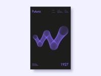 Letter elevation — W