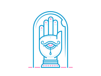 All Seeing Hand (Mystic Icons 3/3)