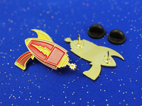Astro Blaster Pin