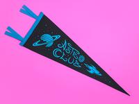 Astro Club Pennant