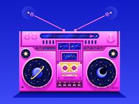 ✨ Galactic Ghetto Blaster ✨