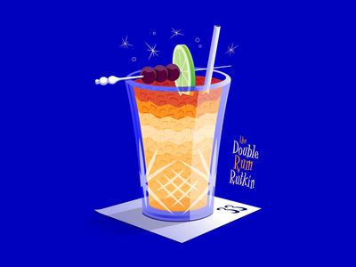 The Double Rum Rutkin 🍹