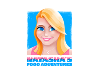 Natasha's Food Adventures Logo
