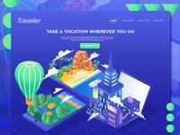 Vacation Exploration Header