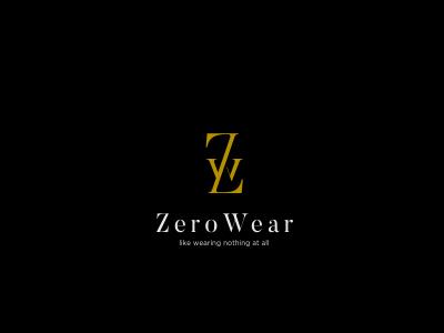 ZeroWear Clothing Logo Design abstract zw logo simple letters logo clothing logo w logo z logo designer for hire logo designer branding designer freelance logo designer