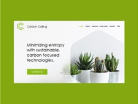 Agricultural Business Website Page Design