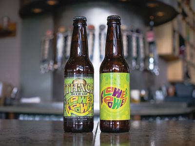 Old vs. New beer brand label packaging