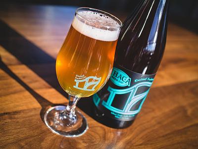 17 Design ithaca beer print numbers label