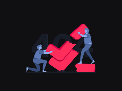 Almost there! productivity project checkmark human illustration design