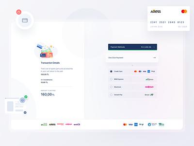 Online Payment Platform uikit component branding web design clean minimal ux ui website banking payment form payment app payment method payment