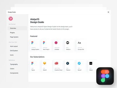 Design Guide Journey: Our New Figma Plugin clean plugins design team styles designs icons auto layout typography colors variants components guide design guide style guide design ux ui figma design plugin figma