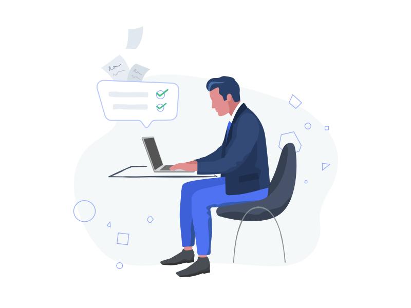 StartupMarket Illustrations design interface investor investment entrepreneur startup startupmarket illustrations