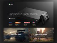 Xbox Landing Page