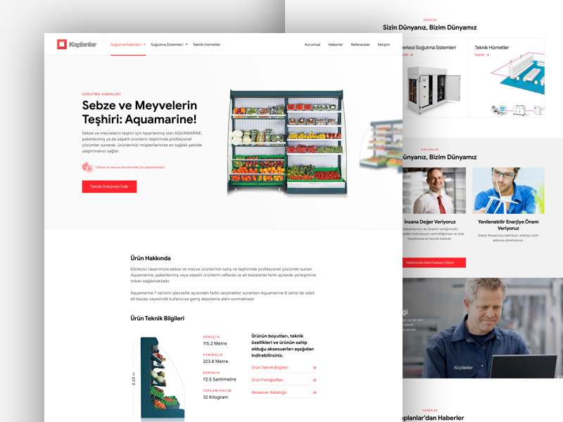 Corporate Web Site clean web design layout web minimal ux design ui corporate