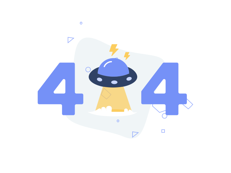 404 Page design vector icon illustration not found error 404