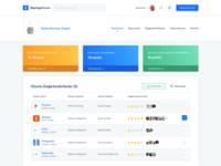 StartupMarket - Dashboard