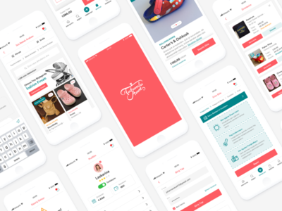 TutumluAnne Mobile App UI Design react marketplace clean layout app mobile ux design ui