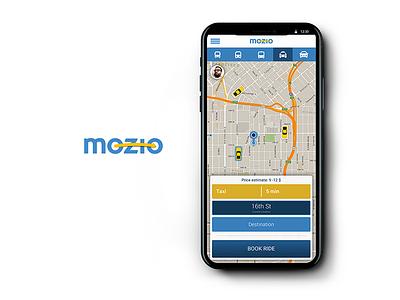 User Interface design for a transportation startup. Mozio interaction transportation startup application app design ui user interface
