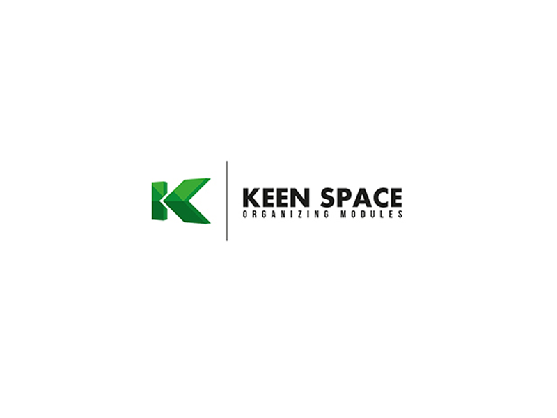 Logo design for furniture and Keen Space branding graphic furniture design logo