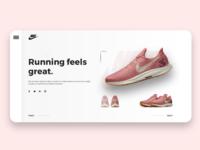 Product showcase UI