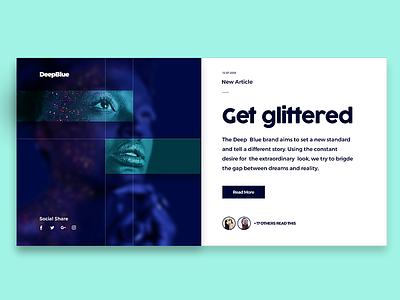 Blog Post concept design design webdesign web interface user ui showcase post blog minimal magazine
