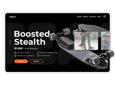 DailyUI  #007 Product showcase website concept website design showcase graphic ux webdesign web product user interface ui design