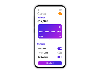 Banking app concept design #012 Mobile banking bank app showcase mobile design banking app mobile ui ux application app product ui user interface design